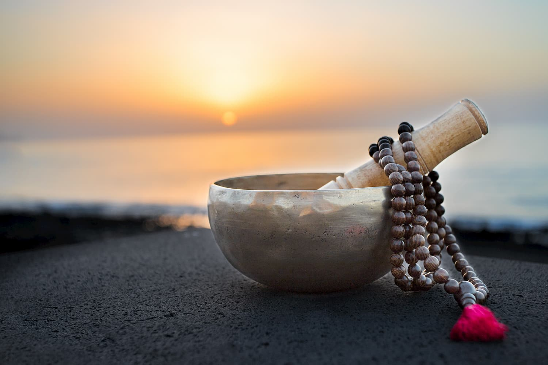 mala collier méditation